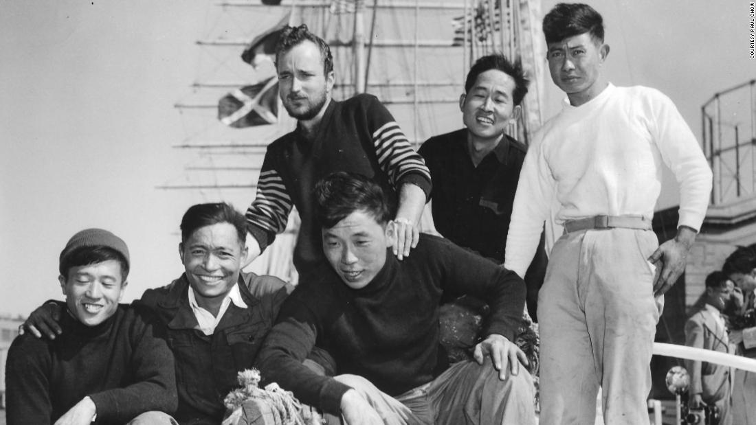 Over half a century ago, 6 men crossed the Pacific in a Chinese junk boat