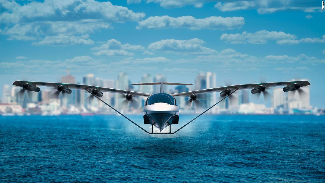 This boat-plane hybrid could transform inter-city travel