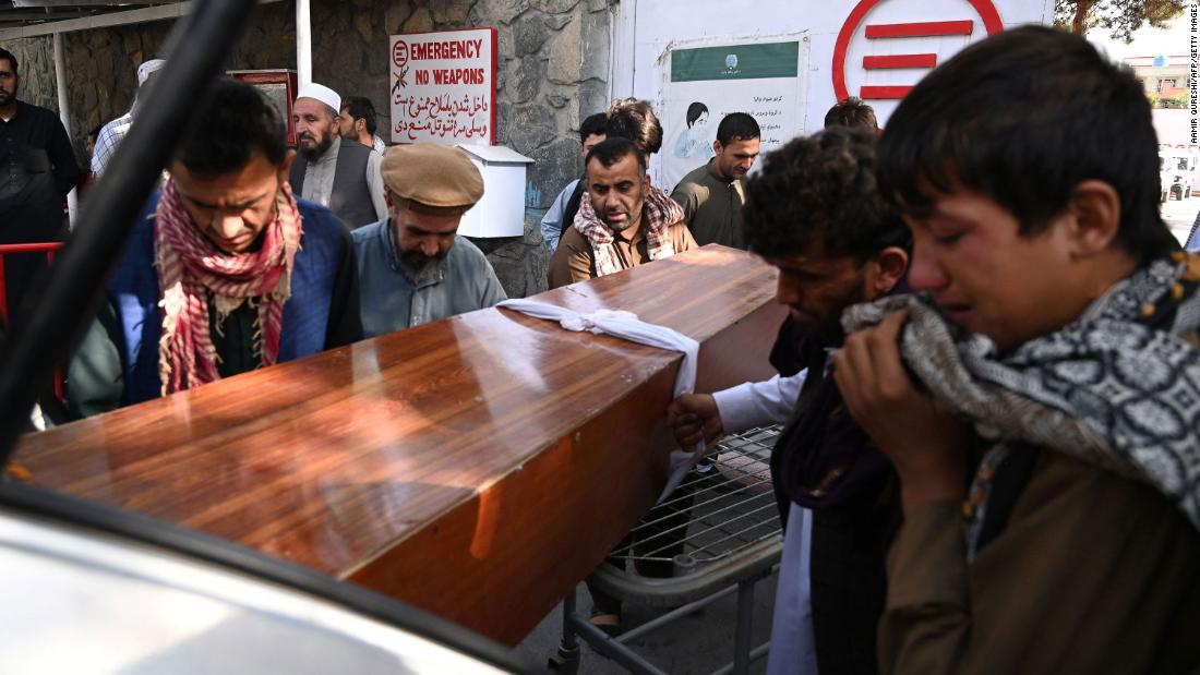 US presses on with evacuation from Afghanistan after deadly Kabul terrorist attack